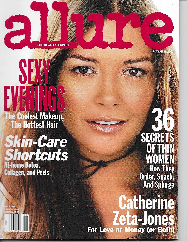 Allure Magazine November 2003 Catherine Zeta Jones Cover