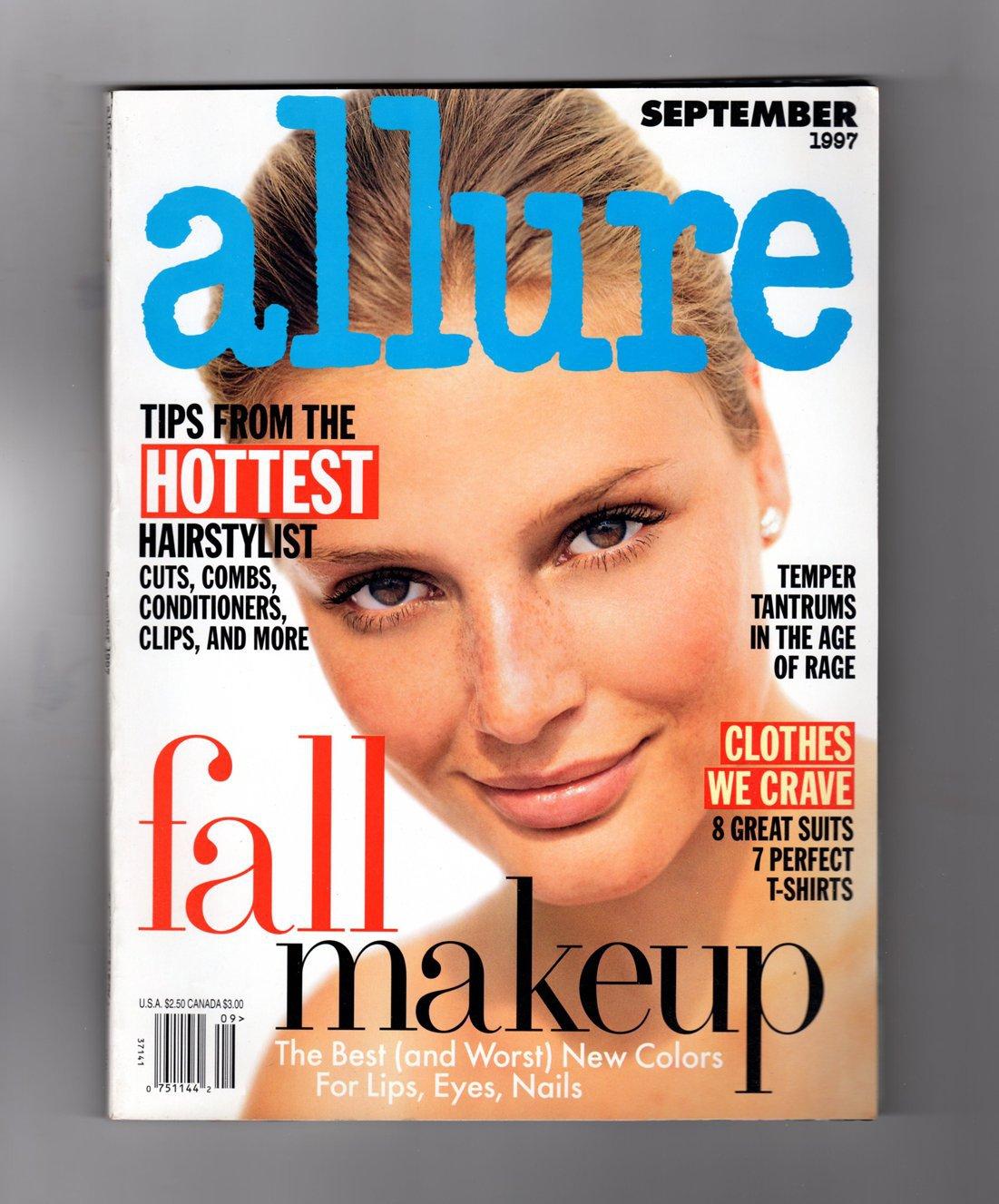 Allure Magazine September 1997 Bridgett Hall Cover