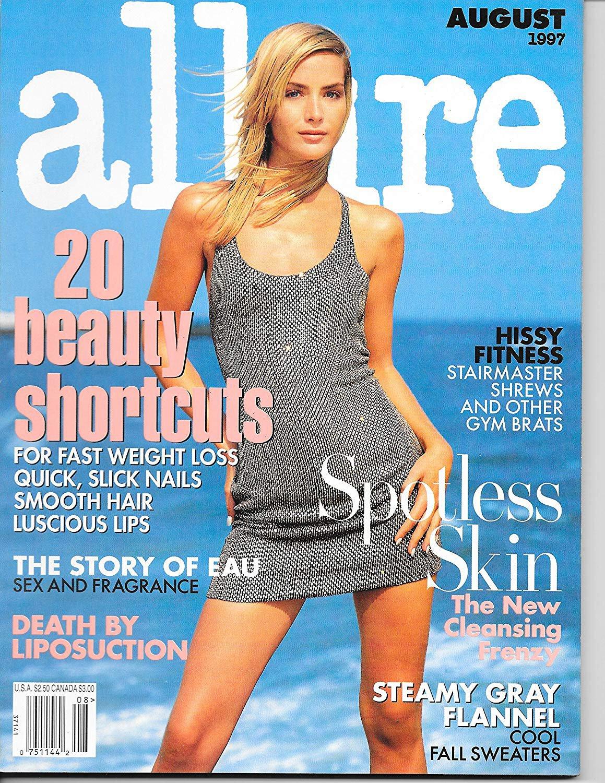 Allure Magazine August 1997 Georgina Grenville Cover