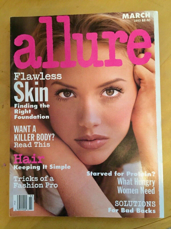 Allure Magazine March 1993 Lelani Bishop Cover
