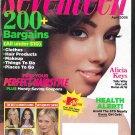 Seventeen Magazine April 2005 Alicia Keys Cover