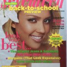 Seventeen Magazine August 2005 Jessica Alba Cover