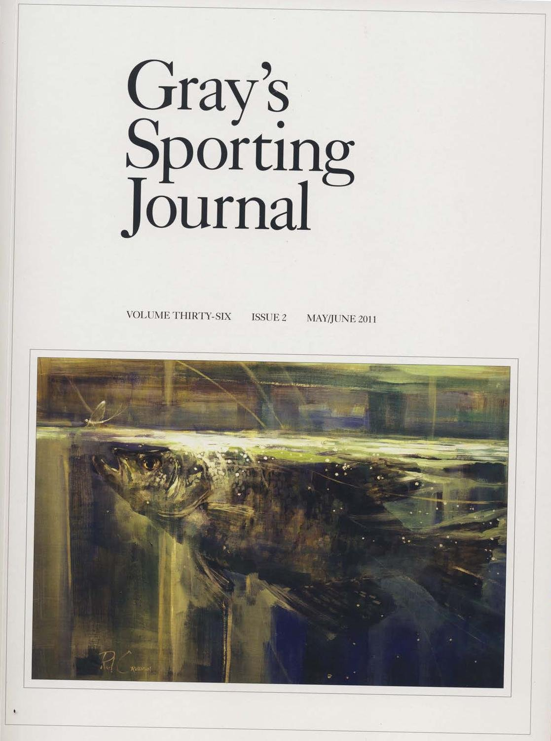 Gray's Sporting Journal Magazine May/June 2011