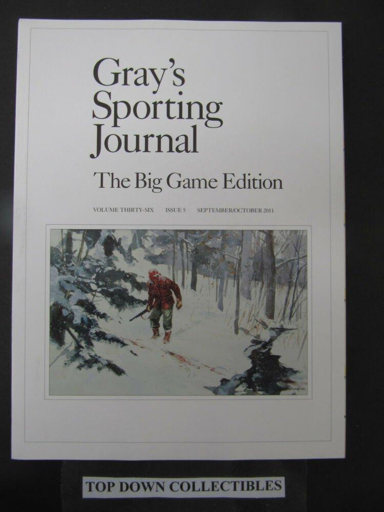 Gray's Sporting Journal Magazine September/October 2011