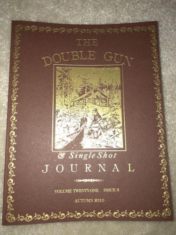 The Double Gun & Single Shot Journal Magazine Autumn 2010