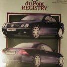 DuPont Registry Magazine October 2001 Full Issue Brabus Cover