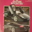 DuPont Registry Magazine  August 2002 Lamborghini Murcielago