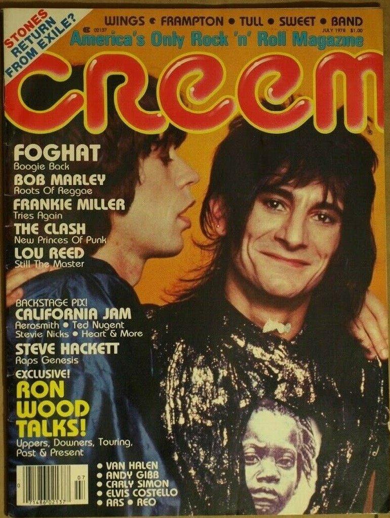 Creem Magazine July 1978