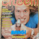 Creem Magazine January 1979 Ted Nugent Cover