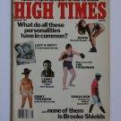 High Times Magazine August 1982