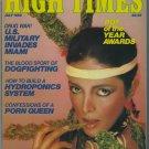 High Times Magazine July 1982