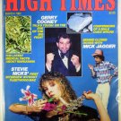 High Times Magazine March 1982