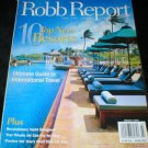 Robb Report Magazine March 2003 New Resorts Back Issue