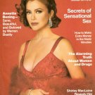 Annette Benning December 1991 Cosmopolitan Magazine  Full Back Issue