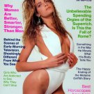Stephanie Seymour July 1989 Cosmopolitan Magazine  Full Back Issue