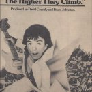 Magazine Paper Print Ad With David Cassidy For Hither They Climb Album