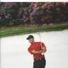 Photograph With Tiger Woods Playing Golf