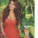 Photograph With Sofia Vergara For Tempting Paradise Fragrance