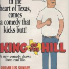 Magazine Paper Print Ad For King of the Hill