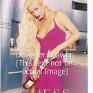Magazine Paper Print Ad Set With Paris Hilton For Guess Products