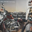 Photograph With Shirley Manson With Motorcycle