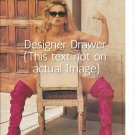 Photograph With Actress Nicolette Sheridan In Pink Boots
