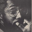 Magazine Paper Print Ad With Billy Cobham For Shabazz Album