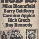 Magazine Paper Print Ad With KGB Debut Album 1976
