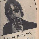 Magazine Paper Print Ad With Dirk Hamilton For Met Me At The Crux Album