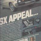 Magazine Paper Print Ad For 1978 Datsun 200SX Cars