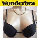 Wonderbra Black deep Plunge Convertible Bra 3094 36A NWT