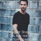 Original Magazine Photo With Dave Gahan Of Depeche Mode
