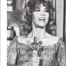 Original Photo With Jane Fonda & Oscar Statue