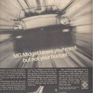 Magazine Print Ad For MGB Cars Blows Your MInds