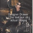 Original Magazine Photo With Singer Bono of U2