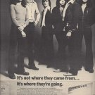 Magazine Paper Print Ad With Foreigner For Self Title Album Promo