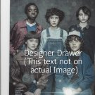 Original Magazine Photo With Cast of Stranger Things