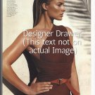 Original Magazine Photo With Margo Robbie In Michael Kors Swimsuit