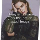 Original Magazine Photo With Actress Emily Blunt In Gucci Dress