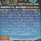 Magazine Paper Print Ad For Langerado Music Festival Florida 2008