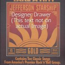 Magazine Paper Print Ad For Jefferson Starship Gold Album Promo