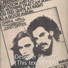Magazine Paper Print Ad With Hall & Oats Album Promo 1976