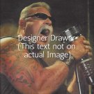 Original Magazine Photo With Paul Teutul Of American Chopper TV Show