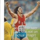 Original Magazine Photo With Bruce Jenner At Olympics In 1976