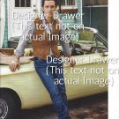 Original Magazine Photo With Actor Matthew Mcconaughey By Car