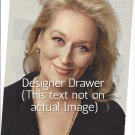 Original  Magazine Photo With Actress Meryl Streep In 2009