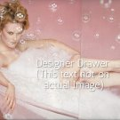 Original Magazine Photo With Actress Nicole Kidman In Tub In 1995