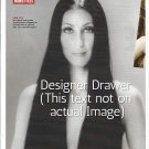 Original Magazine Photo With Cher In 1975