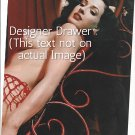 Original Magazine Photo With Dita Von Teese In 1995