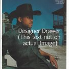 Original Magazine Photo With Actor Will Smith In Cowboy Hat